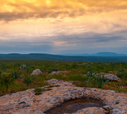 4k-timelapse-dramatic-sunset-in-a-rocky-steppe-with-beautiful-green-grass_e_e9qys5ng__F0010